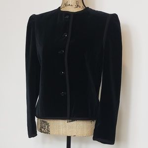 SAKS Fifth Avenue Velvet Jacket/Blazer